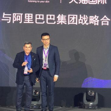 El grupo Alibaba premia a Sesderma por sus ventas en China