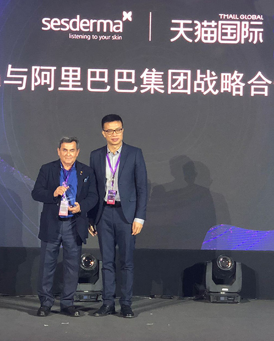 Alibaba Group awards Sesderma for its sales in China