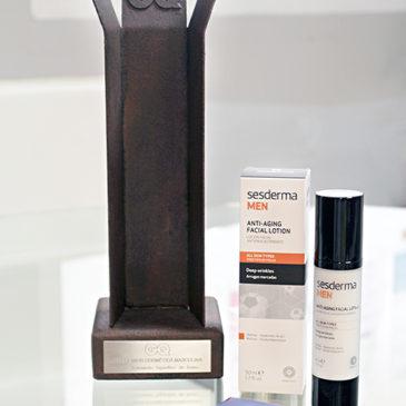 La revista GQ premia a Sesderma Men loción facial antienvejecimiento