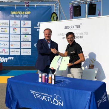 Sesderma, nuevo patrocinador de la Federación Española de Triatlón