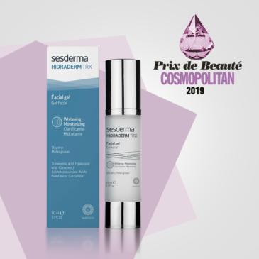 """HIDRADERM TRX Crema Gel ha sido premiado como """"Mejor Producto"""" en la categoría """"Dermocosmética"""""""