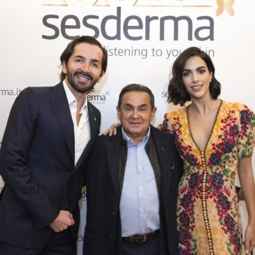 Sesderma introduces its new e-commerce and campaign in Italy with Rocío Muñoz