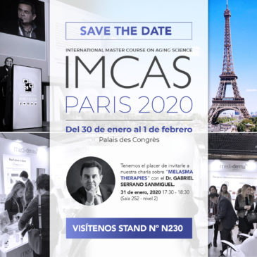 IMCAS WORLD CONGRESS 2020, THE REFERENCE FORUM OF DERMATOLOGY AND AESTHETID MEDICINE