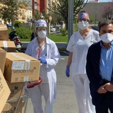 EL DR. GABRIEL SERRANO SE VUELCA EN LA LUCHA CONTRA EL CORONAVIRUS