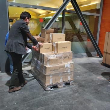 Nuestros productos ya han llegado a IFEMA