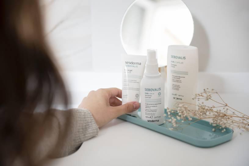 Sebovalis de Sesderma, ideal para tratar la dermatitis seborreica en la cara