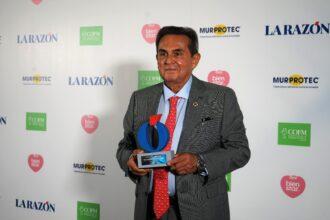 Dr. Gabriel Serrano, awarded again by the newspaper La Razón
